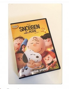 Snobben, Loppiblogbag, Blogbag, the peanuts movie, blogg, fotohella
