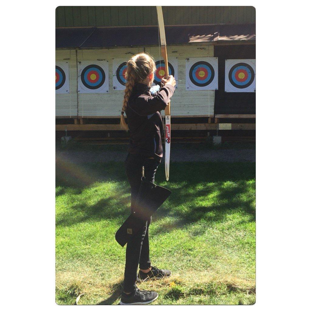 Archery, Bågskytte, Pilbåge, Träna