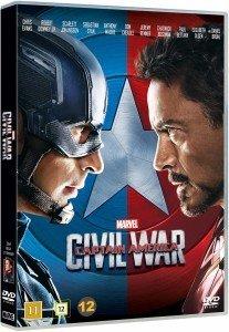 Vinnare, Captain America Civil War, Marvel, DVD, release, Blogg, Fotohella, Allt för föräldrar, Tävling, Vinn, Tips, Bloggtävling