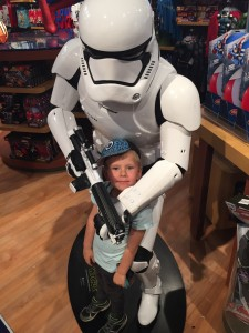 Mall of Scandinavia, MOS, Disney Store, Blogg, Fotohella, Star Wars, StormTrooper