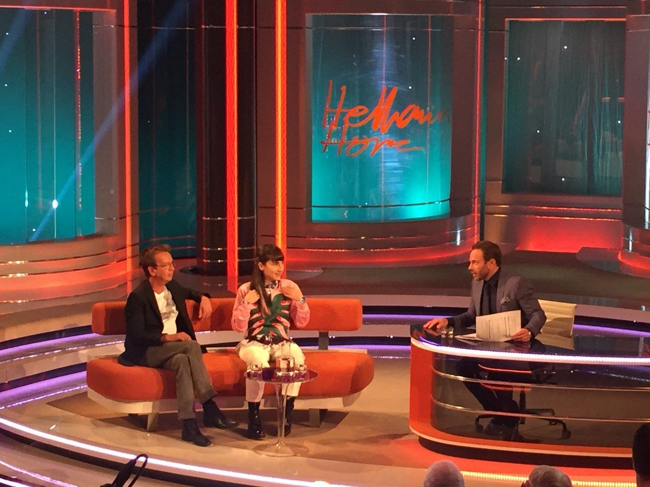 Hellenius Hörna, inspelning, TV4
