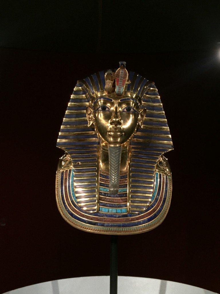Tutankhamun, TutanChamun, gravkammare, rekonstruktion, graven och skatterna, magasin 9, Frihamnen, utställning.