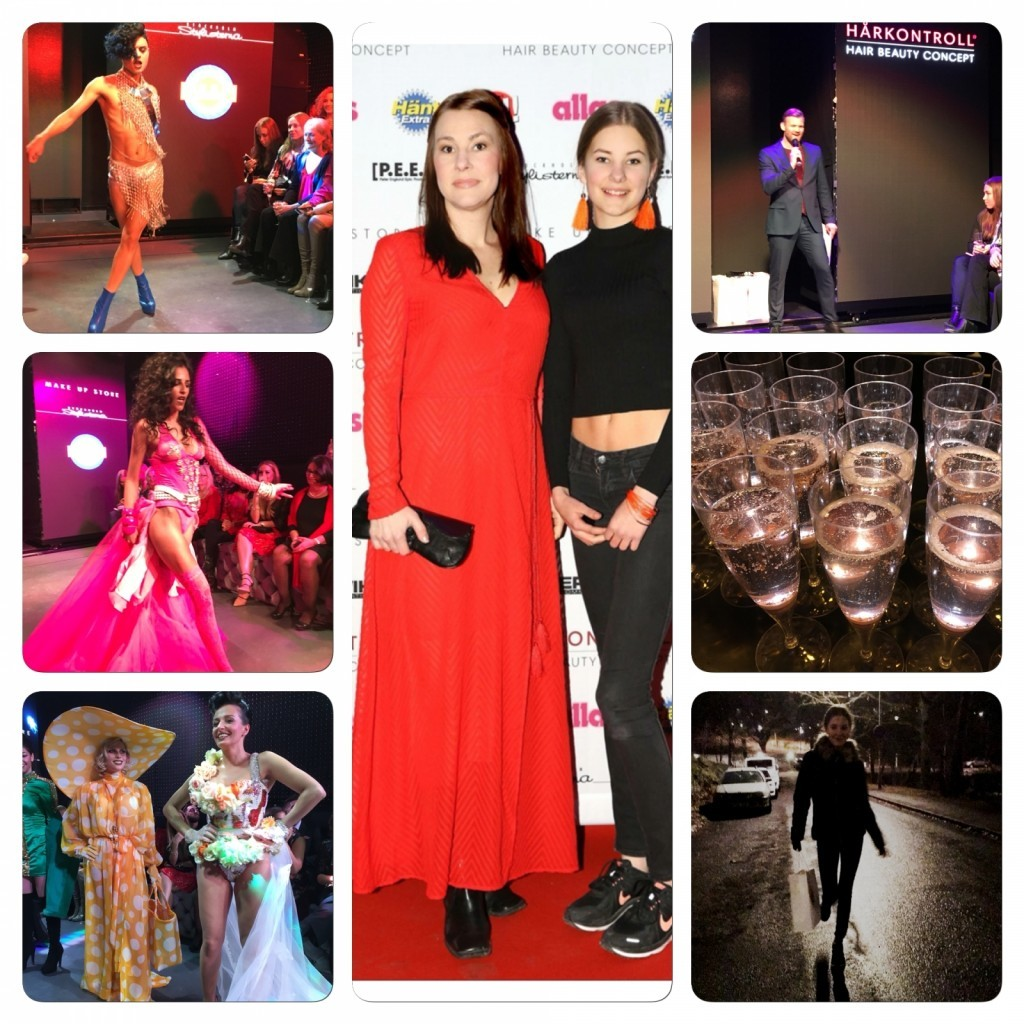 Erwik Communication, Make up Store, Event, Galakväll, Happy Hair Night, Blogg, fotohella, goodiebag, Hårkontroll, Hårkontroll Modell