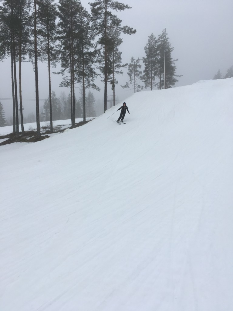 Slalom, bjursås, weekend