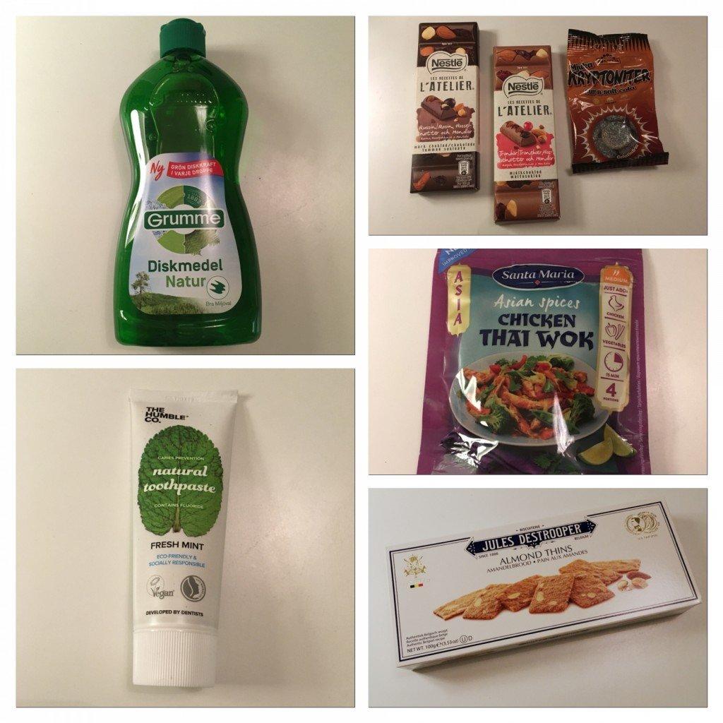 TestagramS, Grumme diskmedel, Santa maria, produkter, nyheter, tips, fotohella