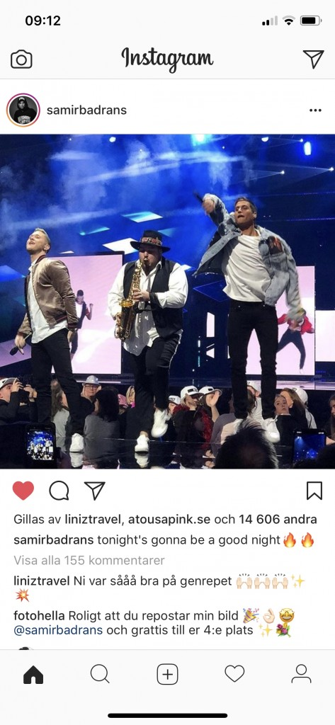 Shuffla, fotohella, foto, mello, Melodfestivalen