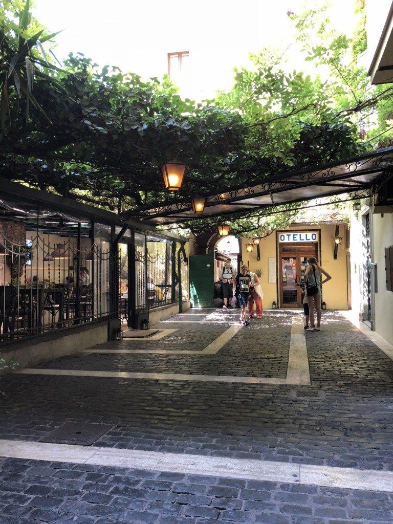 restaurant, lunch, rom, rome, spanska trappan, influncer, resa med barn, fotohella, lunchtips, italy