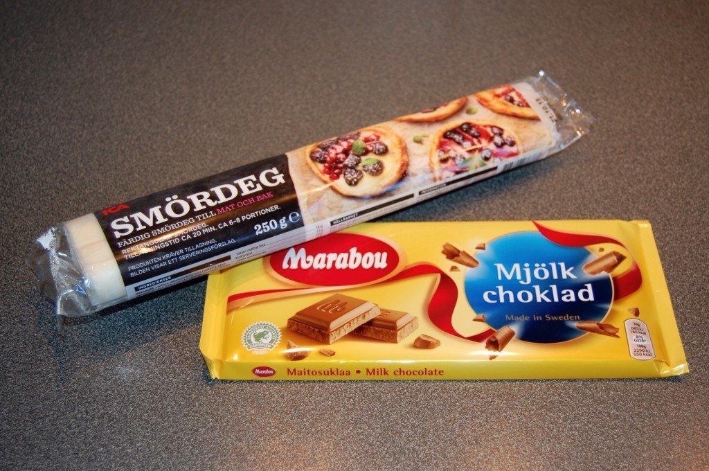 choklad i smördeg