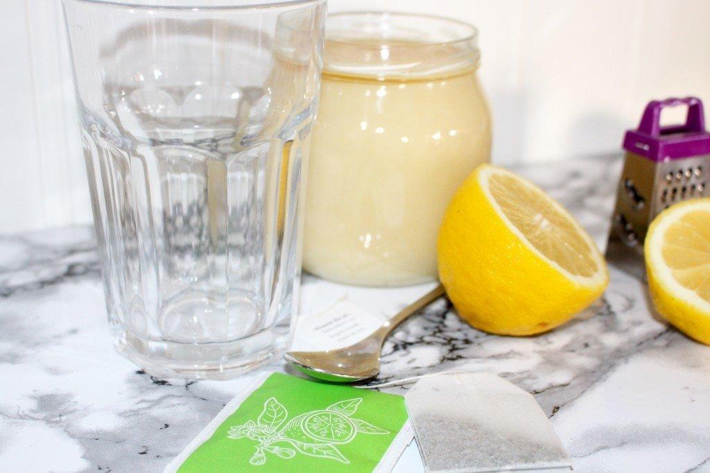 citron och ingefärste