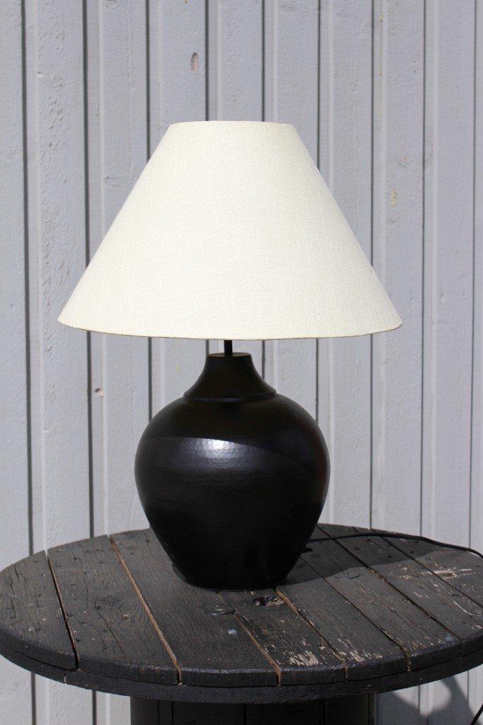 DIY – en gammal lampa får nytt liv -