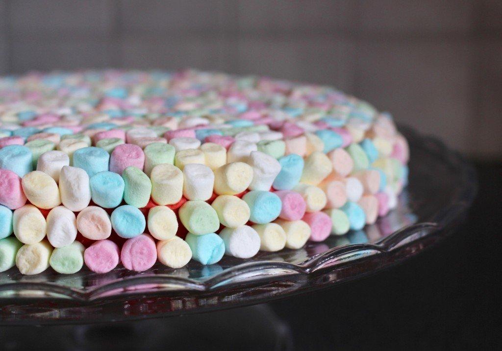tarta_baka_med_godis_marshmallow_barnkalas_fargglad_tarta_kladdkaka_med_hallon