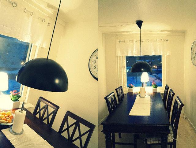 Lampa över köksbord  Hanna - Inredningstokig tvåbarnsmamma