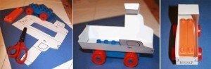 Instruktioner för Legobilar