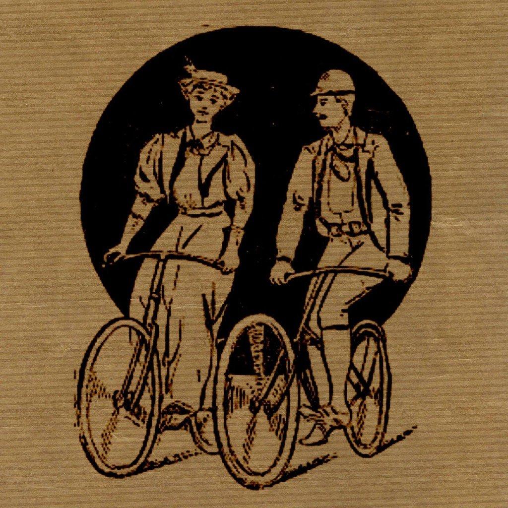 Par på cykel