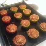 nutellamuffins med frosting