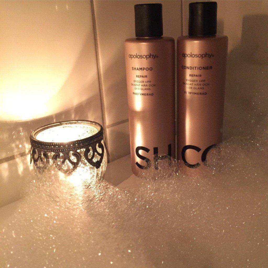 Shampoo och balsam från Apoteket Hjärtat
