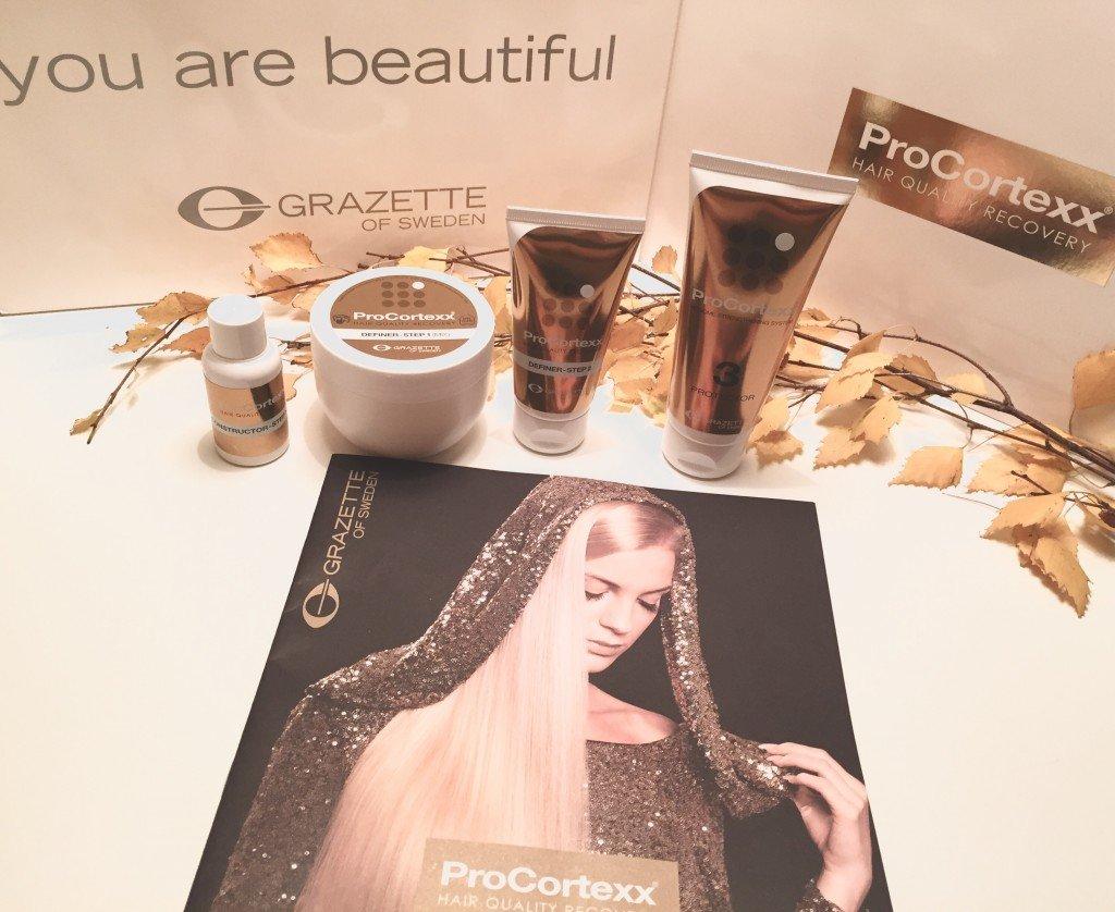 ProCortexx hair quality recovery från Grazatte of Sweden. Tack Mälarpaviljongen!