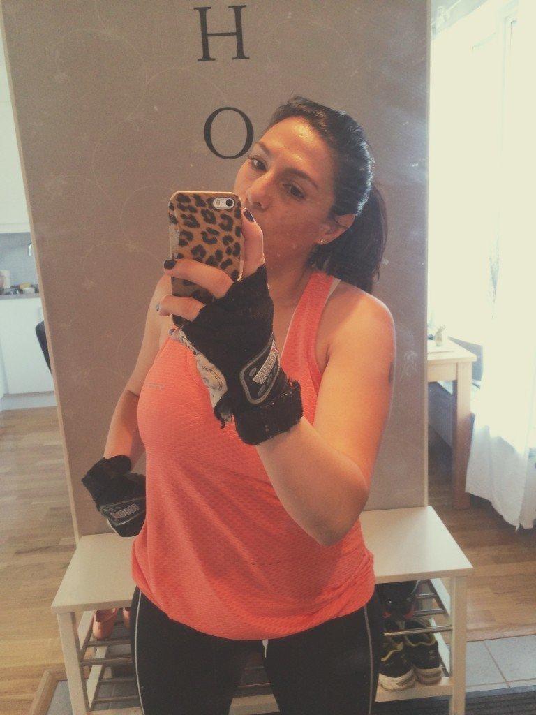 Olga Rönnberg Mammaträning fitness workout workforit