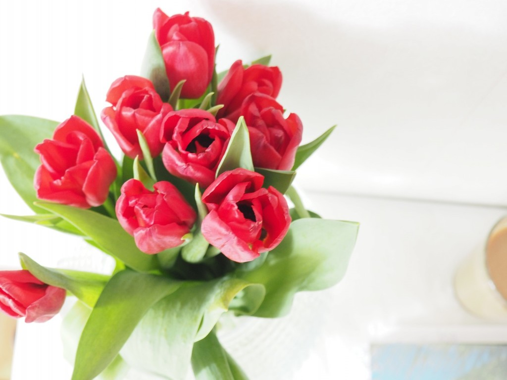 Blommor vackra morsdag grattis