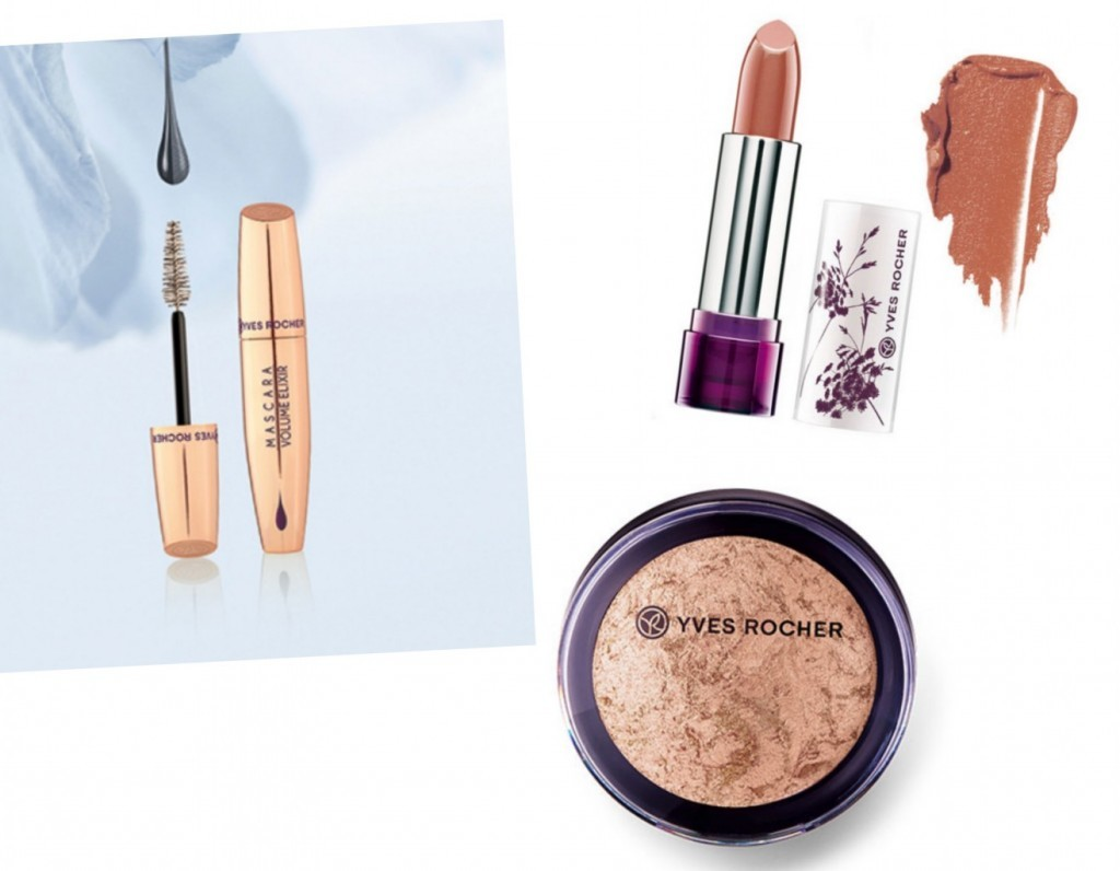 Yves Rocher smink puder läppstift mascara volume lamadre samarbete bloggare bloggjobb marknadsföring skönhet shopping