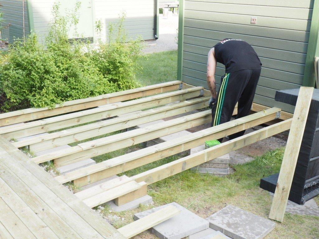 Inredning lägga trall på balkong : Bygga Trall Balkong. Affordable Nu Terstr Bara Att Bygga Trall ...