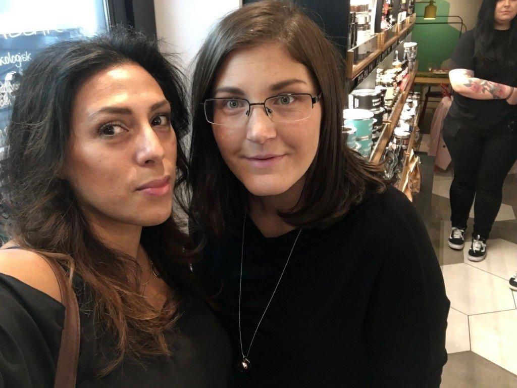 Nina och jag bloggevent 2016 lakritsevent Haupt