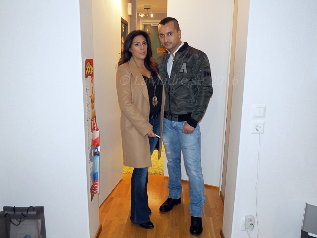 going out with husband tillsammans lamadre diana min man