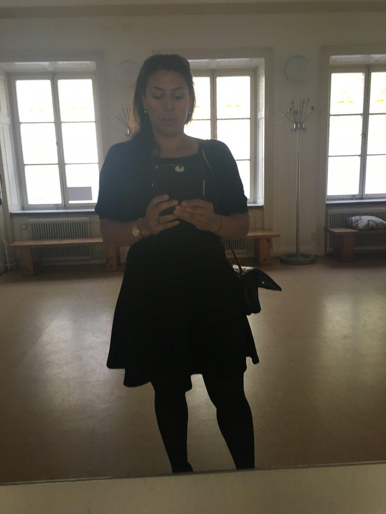 begravning_svart_selfie
