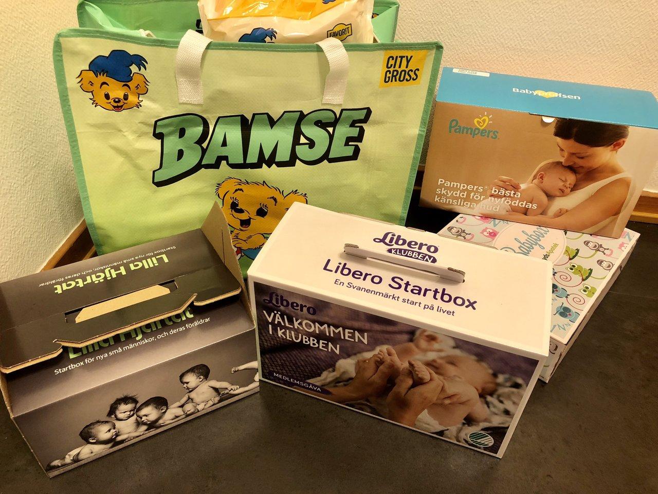 gratis startpaket gravid