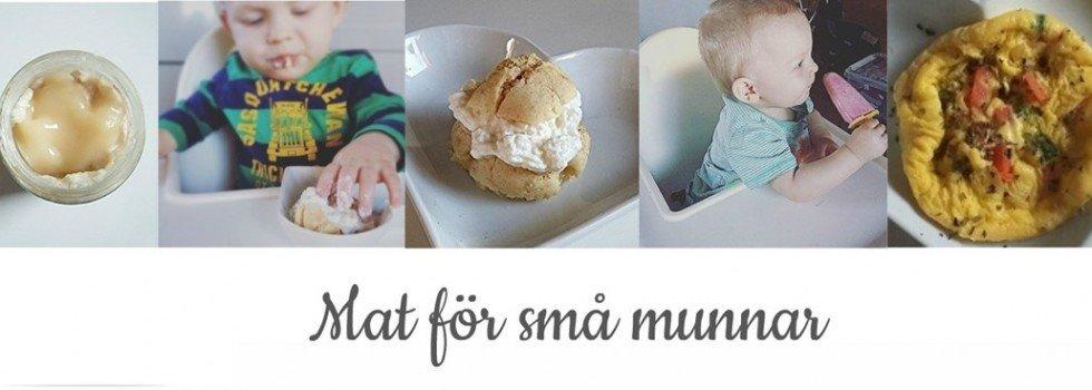 Mat för små munnar- Roligare barnmat