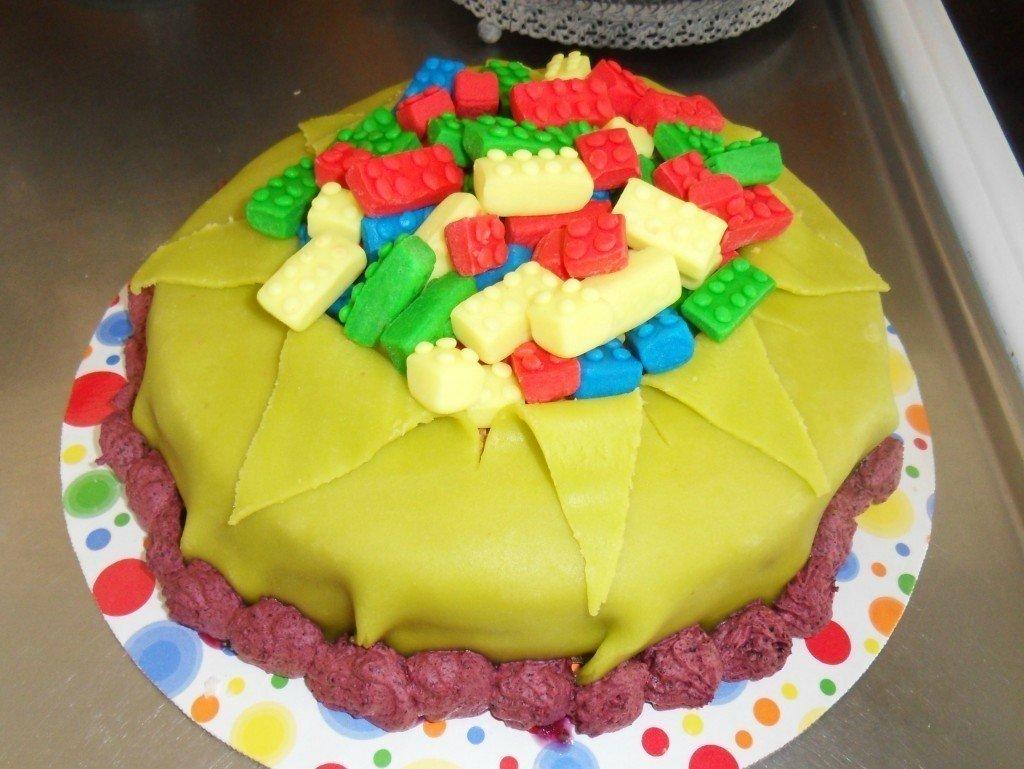 Lego tårta