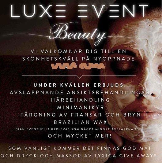 Luxe Event Beuaty