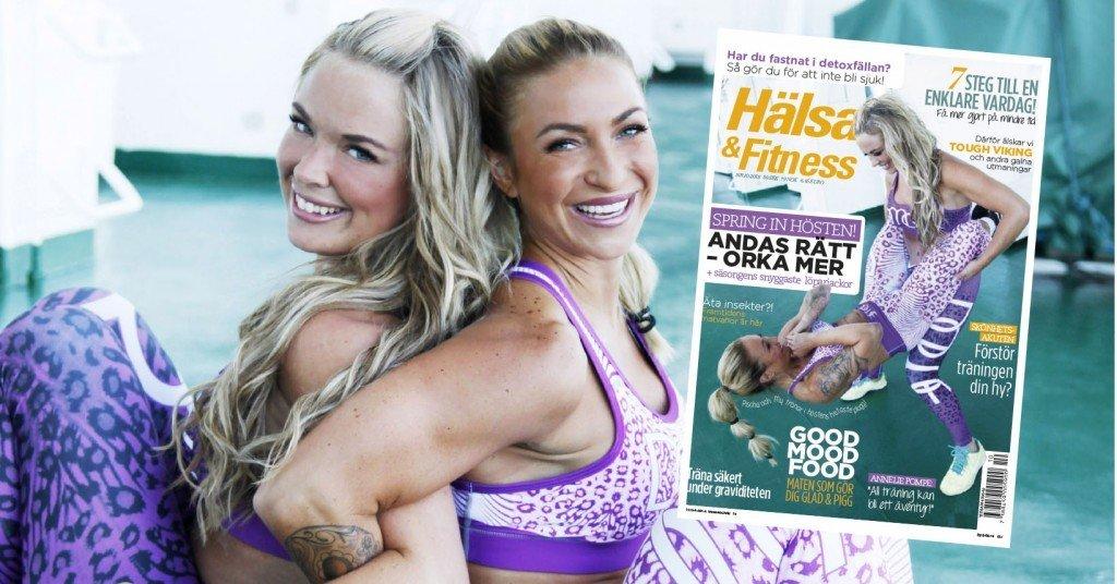 hälsa & fitness, träningsmagasin, my martens pischa, covergirls, tränings tips, träningsmode, dome fitness, fitness fashion,