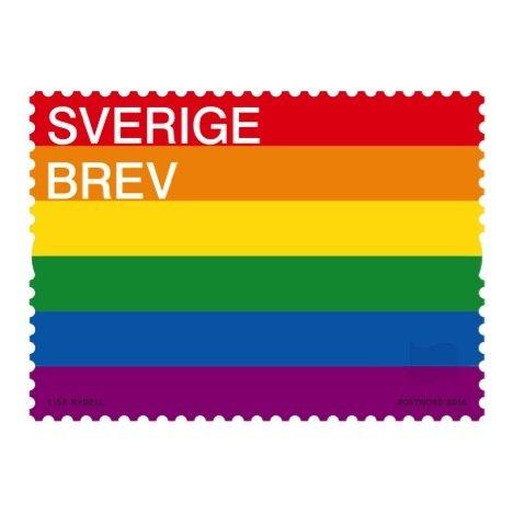 Pridefrimärket Instagram