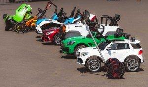 elektriska fordon och leksaker