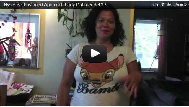 Lady Dahmer: http://ladydahmer.alltforforaldrar.se/index.html, Apan http://apans.se/