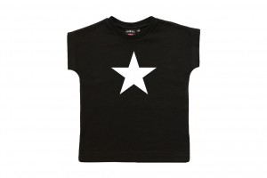 svart tshirt star