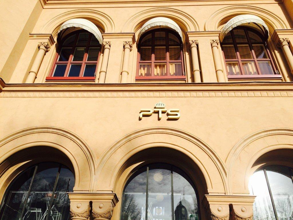 Det högst respektingivande PTS-huset.