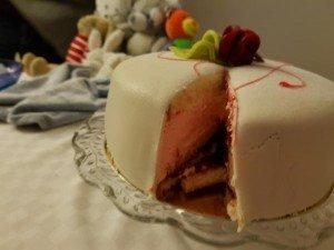 bebis tårta