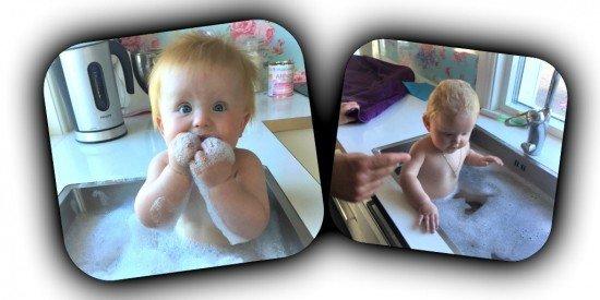 hur badar man tvillingar