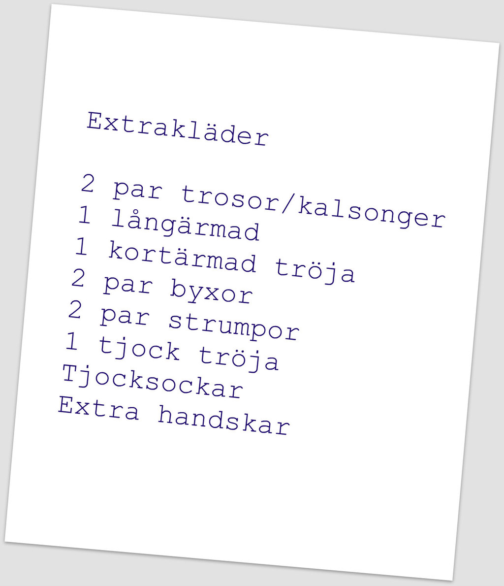 Extrakläder