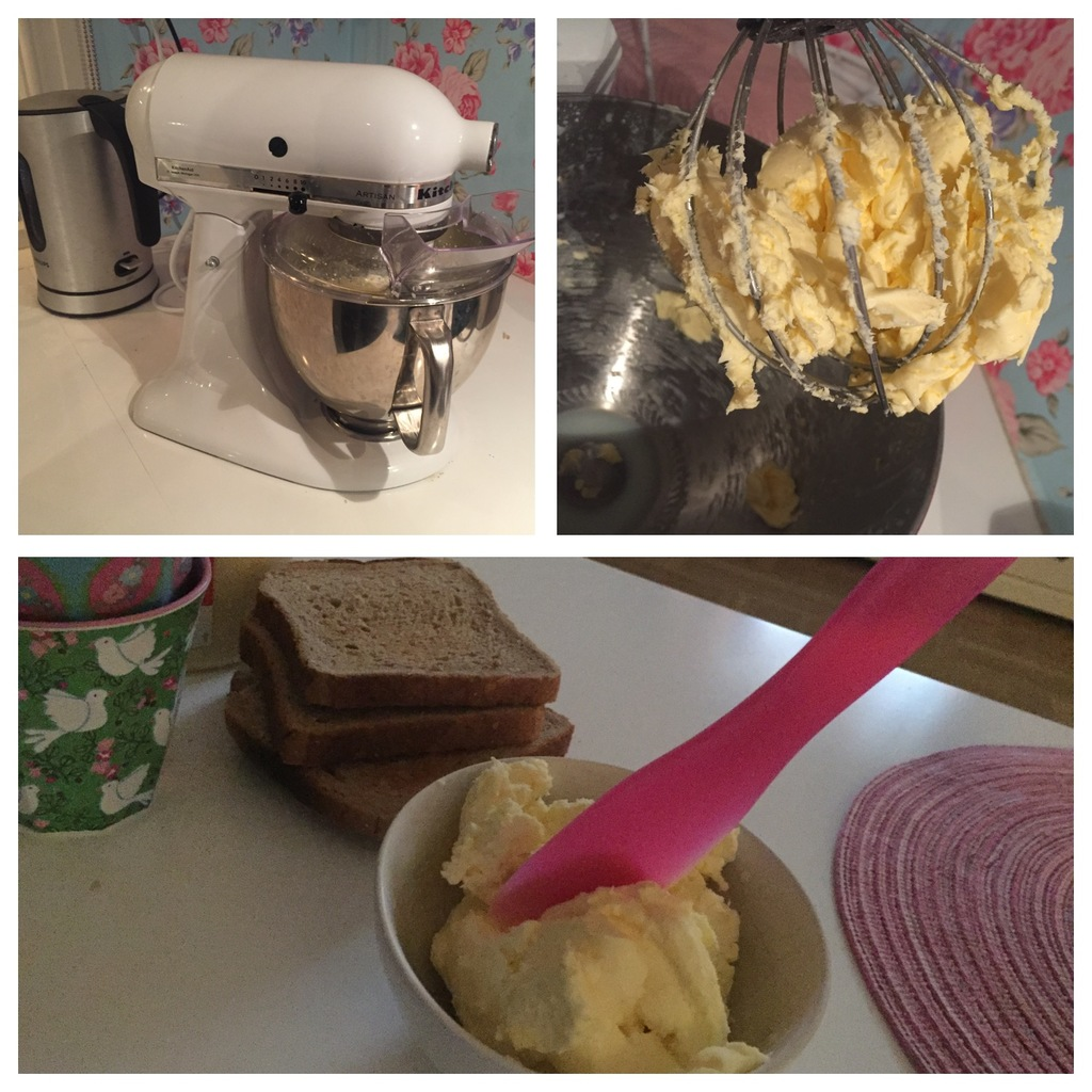 göra eget smör