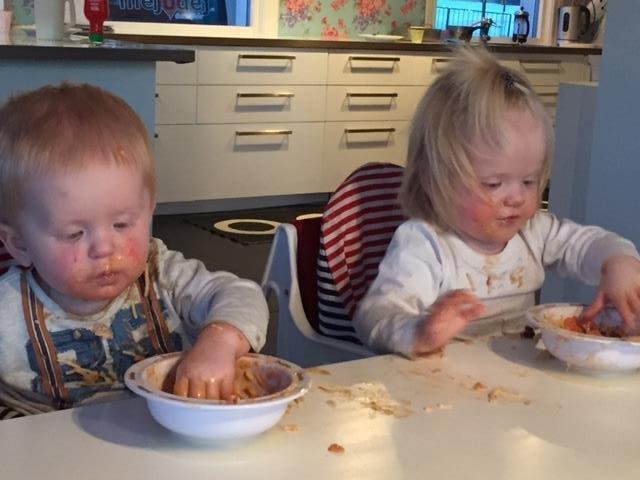 äta själv ettåring