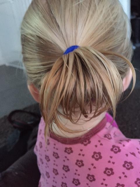 håruppsättning barn