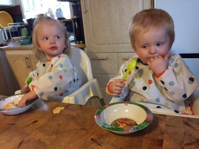tårtkalas tvillingar