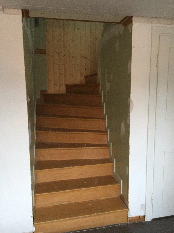 renovera gammal trappa