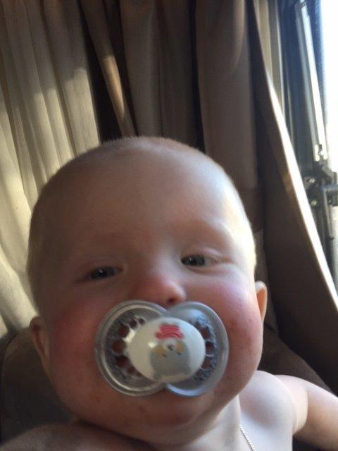 bebis i husvagn