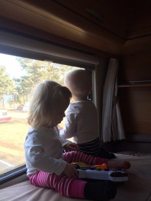 plats för barn i husvagn