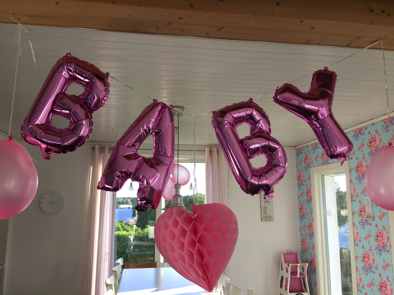 dekoration babyshower