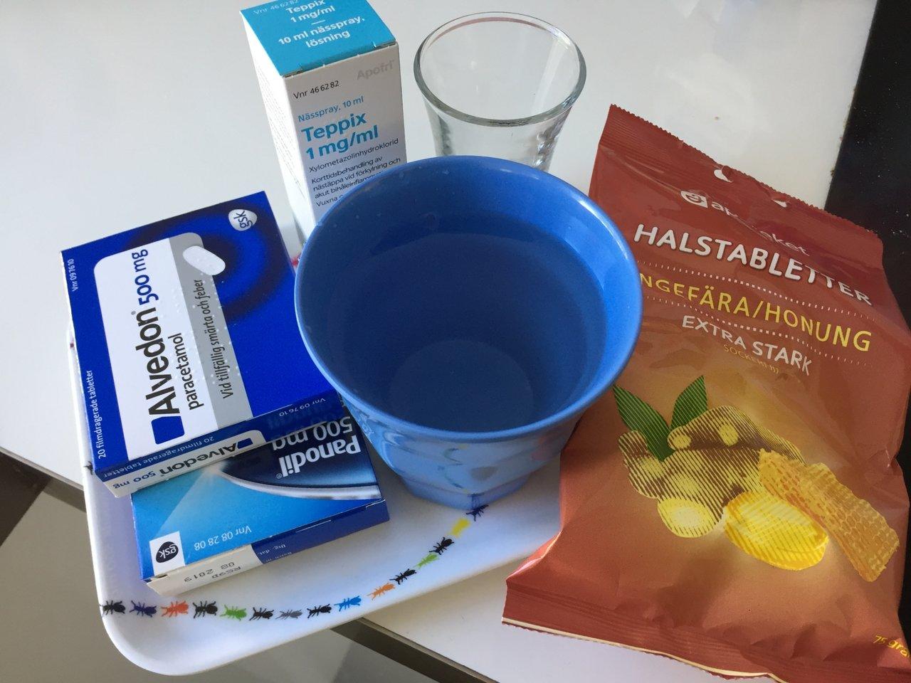 hjälp vid förkylning